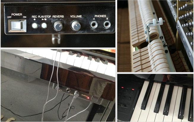 什么是静音钢琴?静音系统!